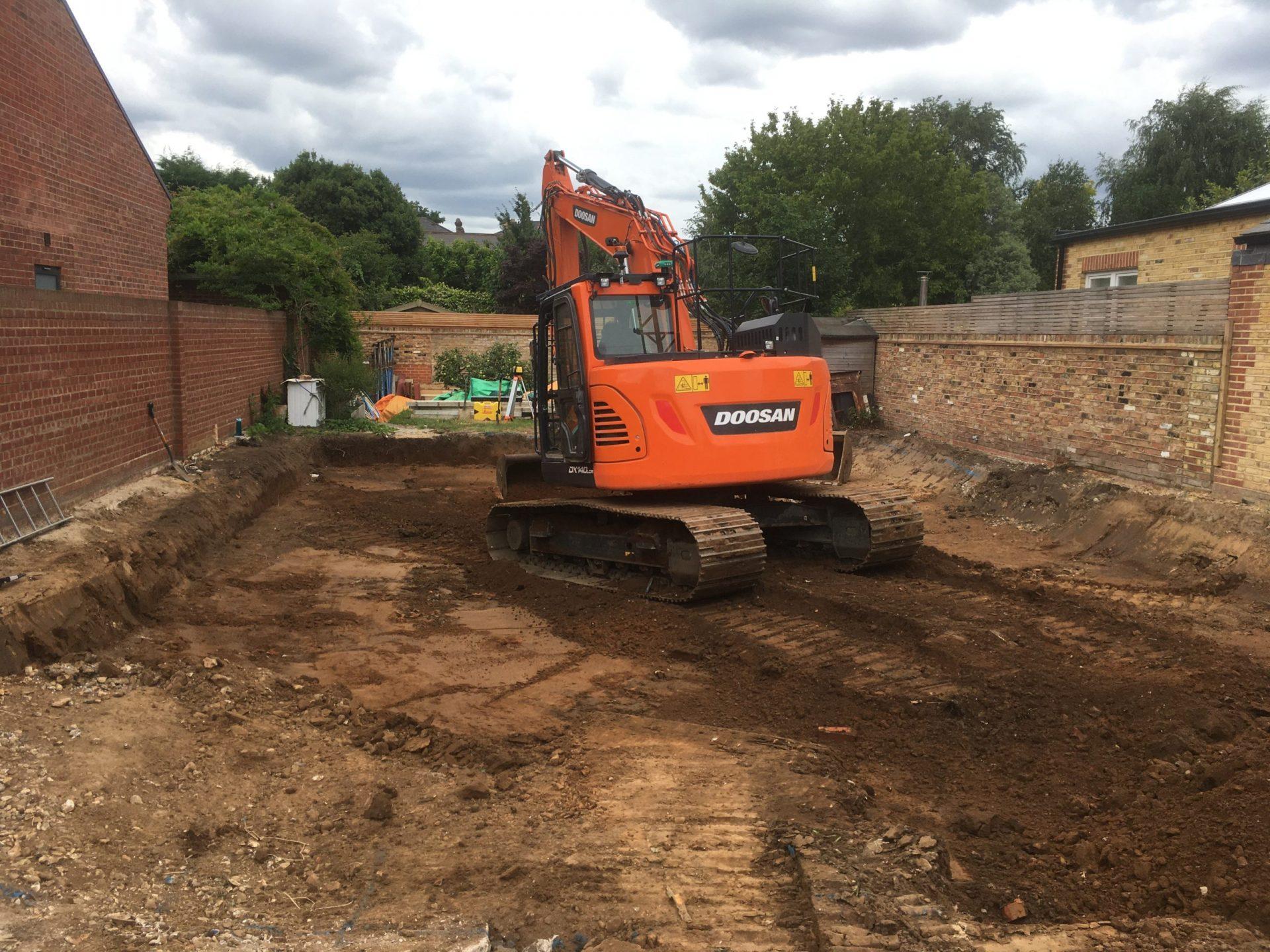 Thames Dismantling house demolition site