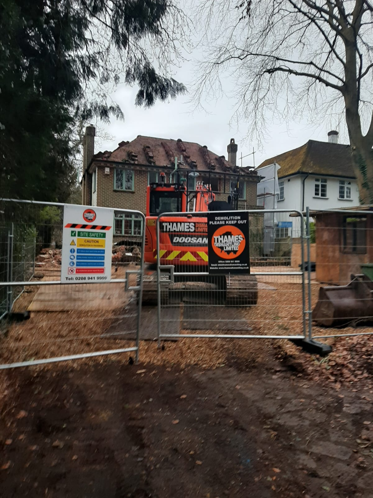 Despatched House Demolition, Epsom